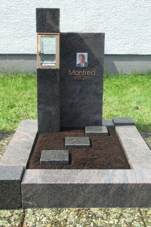 urnengrab grabanlage 15